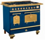 Restart ELG023 Blue Kitchen Stove, type of oven: electric, type of hob: gas
