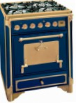 Restart ELG070 Blue Kitchen Stove, type of oven: electric, type of hob: gas