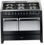 Smeg A2BL Kitchen Stove, type of oven: electric, type of hob: gas
