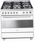 Smeg C9GMB Kitchen Stove, type of oven: electric, type of hob: gas