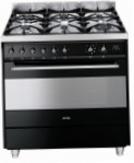 Smeg C9GMN Kitchen Stove, type of oven: electric, type of hob: gas