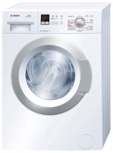 Washing Machine Bosch WLG 24160 Characteristics, Photo
